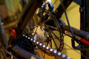 Fahrrad - Kassette und Bremse
