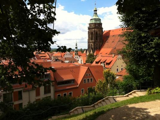 Marienkirche und Altstadt
