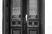 Tür zum Haus Nr. 3